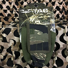 New Valken V-Tac Molle Vest Grenade Smoke Pouch - Tiger Stripe Camo