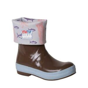 XTRATUF Salmon Sisters 15-inch WATERPROOF Boot AUTHENTIC Jellyfish Womens NEW
