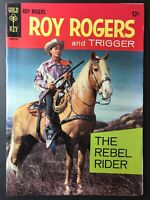 ROY ROGERS AND TRIGGER #1 Gold Key Comic Book 1967 - High Grade! 🔥
