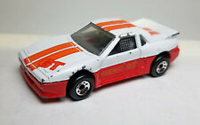 Matchbox loose Pontiac Fiero GT wide body white