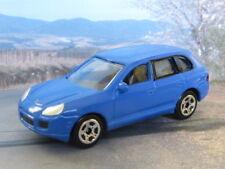 "PORSCHE CAYENNE TURBO 1:60/3"" (Blue) Realtoy MIB Diecast Passenger Car"