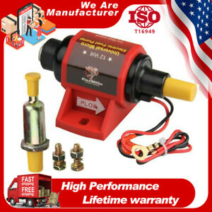 """12 V Low Pressure 5/16"""" Universal Micro Electric Fuel Pumps 42S Polymer Gasoline"""