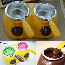 Double Oven Fountain Melting Chocolate Fondue Self-restraint Heated Machine Tool