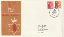 20 OCTOBER 1976 N IRELAND BOTH DEFINITIVES PO FIRST DAY COVER BELFAST SHS