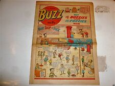 BUZZ Comic - No 7 - Date 03/03/1973 - UK Paper comic
