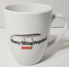 Rapala Crank Bait Heavy Lifting Required Coffee mug