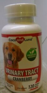 Cranberry for Dogs Urinary Tract and UTI Support, Bladder 120 tablets
