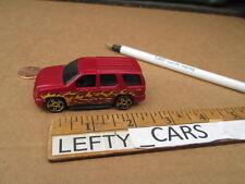 HOTWHEELS 2007 RED CADILLAC ESCALADE SUV - SCALE 1/64 - LOOSE! NO BOX!
