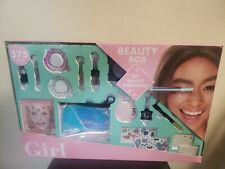 Who's That Girl Beauty Box Gift Make Up Kit Roleplay Set Glitter