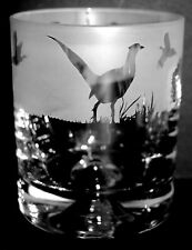 More details for pheasant frieze boxed 30cl glass whisky tumbler