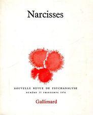 NARCISSES REVUE DE PSYCHANALYSE N. 13 PRINTEMPS 1976