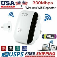 2pcs WiFi Range Extender Super Booster 300Mbps Superboost Boost Speed Wireless