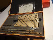 Mitutoyo 129-116 Vernier Depth Gauge, Interchangeable Rods, Micrometer Type,