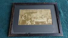 Eddie Foy Sr. 1921 autographed photo to Billy Barker WW1 Ace VC Canada Hero 1OAK