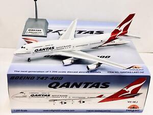 Inflight 1:200 Qantas BOEING 747-400 VH-OEJ QANTAS-LAST-747  169.65