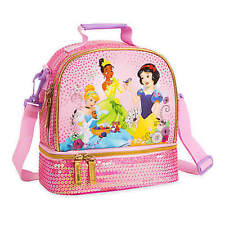 NWT Disney Store Princess Lunch Box Tote School Insulated Bag Cinderella Tiana