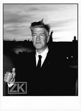DAVID LYNCH Dune Blue Velvet Eraserhead Elephant Man Réalisateur Photo 1990s