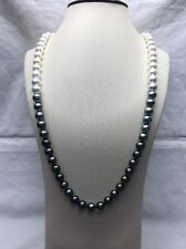 Ombre Pearl South Sea And Tahitian Necklace 10x11mm 88pcs