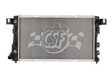 Radiator-1 Row Plastic Tank Aluminum Core CSF 2512