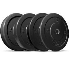 Titan 230 lb Set of Olympic Bumper Plates Benchpress Strength Training Power