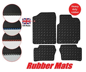 Tailored Car 3mm Rubber Mats & Edgings Kia Picanto 2017 onwards 4 pcs set