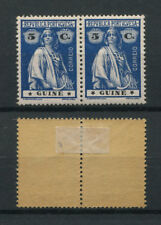 Portuguese Guinea Guine Portugal 1914 CERES PAIR with STARS VARIETY READ, MH FVF