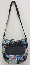 Oilily Bag Black Ink M Shoulder Bag New Floral Crossbody With Tags
