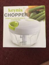 Manual Food Chopper Compact and Powerful Hand Held Vegetable Mincer Blender