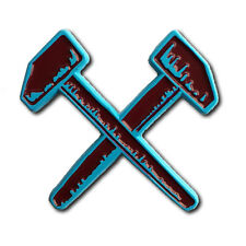 THE HAMMERS *West Ham Edition*  Enamel lapel pin cockney rejects judge nyhc sxe