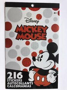 200+ Stickers Disney Mickey Minnie Gang Friends Reward Party Favor NEW