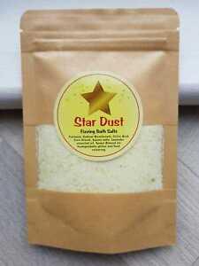 Star Dust Fizzling Bath Salts Bath Bomb Stocking Filler Xmas Kids Unicorn Dust