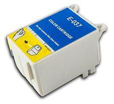 1 T037 Colour non-OEM Ink Cartridge For Epson Stylus C44+ C44UX C46