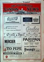 Illustrated London News February 17 1962 Paris Riots Jayne Mansfield Dog Show