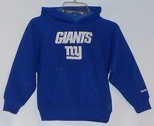 Reebok NFL Team Apparel Boys NY Giants Pullover Hoodie Sweatshirt Blue S/4 NWT