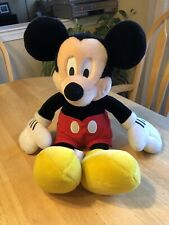 """New listing Disney Mickey Mouse Stuffed Plush Toy Doll 16"""" Large - Excellent Condition"""