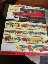 1955 Chevrolet Trucks Mail Advertisement - Twin Cities Chevy Benton Harbor, MI