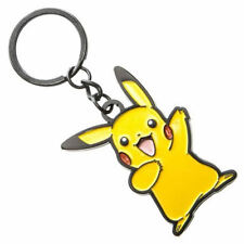 OFFICIAL NINTENDO'S POKEMON PIKACHU CUT OUT YELLOW KEYRING *BRAND NEW*