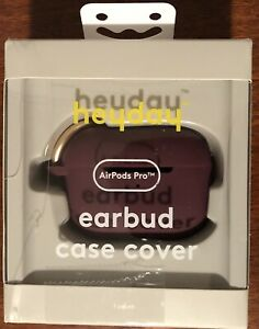 Heyday AirPods Pro Silicone Earbud Case Cover - Purple