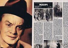 Coupure de presse Clipping 1980 Maupi  (4 pages)