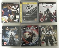 PS3 Game Bundle + Fifa Street + Batman Arkham Asylum +Tomb Raider+Many More (687