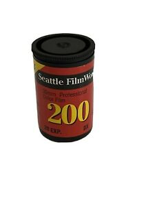 New Roll Of 35mm Film 200 Seattle Film Works 20 Exposures