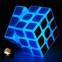3x3x3 Speed & Smooth Glow in Dark Magic Cube Puzzle Twist Rubiks Cube Kids Toy