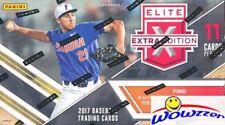 2017 Panini Baseball Elite Extra Edition Sealed Retail Box-5 AUTOGRAPHS/MEM