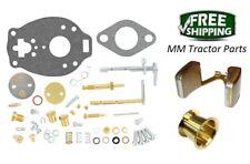 John Deere 1010 Tractor Carburetor repair kit, Float & Venturi - TSX860 Carb