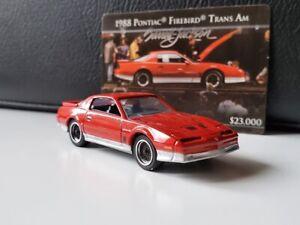 Greenlight 1988 Pontiac Firebird Trans Am red 1/64