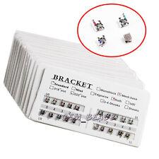 100 set Dental Orthodontic Brackets Standard Roth 022 345 Hooks CE&FDA Mesh base