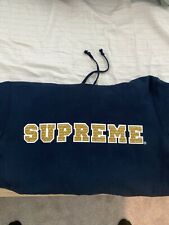 supreme hoodie medium