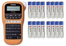 BROTHER PTE110G1 LabelGerät E110 Beschriftungsgerät Printer TZe 3.5 6 9 12+16AAA