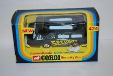CORGI TOYS CAMION BLINDE REF 424 NEUF/BOITE NEW/BOX