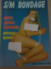 S/M BONDAGE RIVISTA VINTAGE DEL 1992  -- OTTIMO